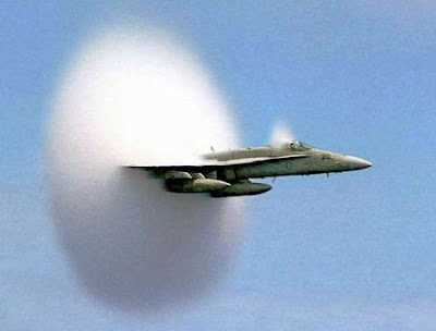 sonic boom aircraft amazing pictures