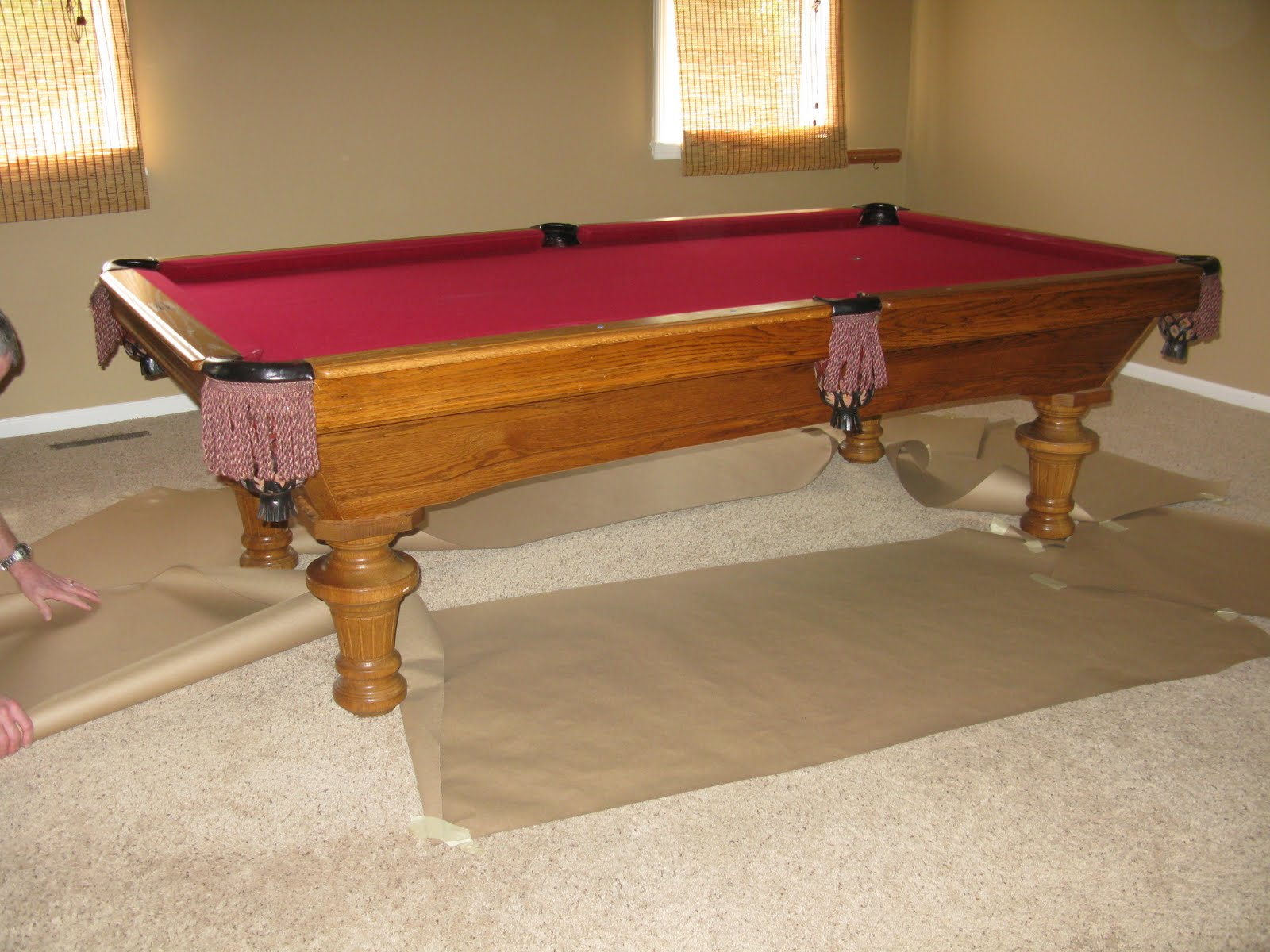 Expensive Pool Table projects plenty: pool table re-do