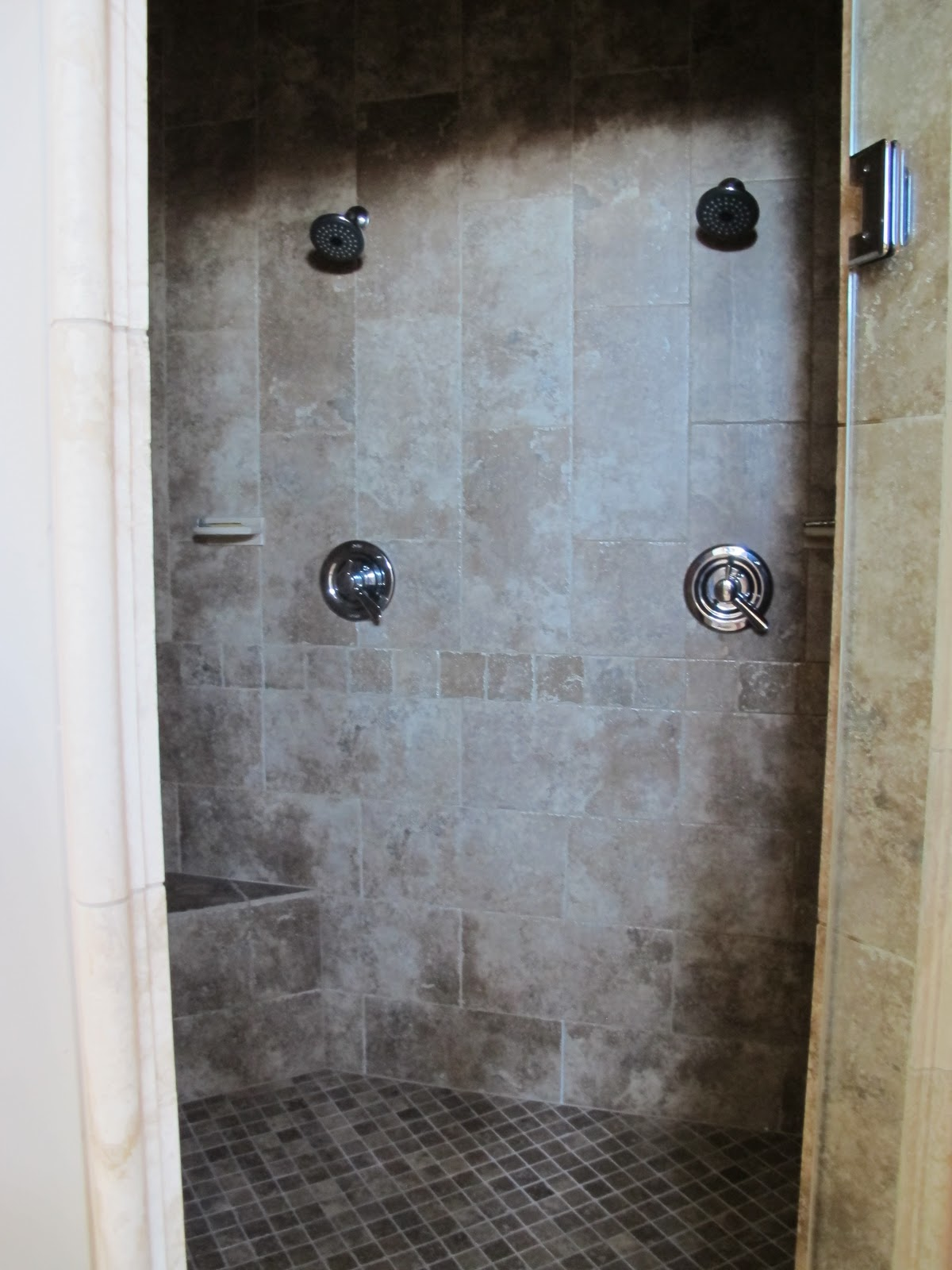 Projects Plenty: Master Bath- and realization that I may be a tile ...