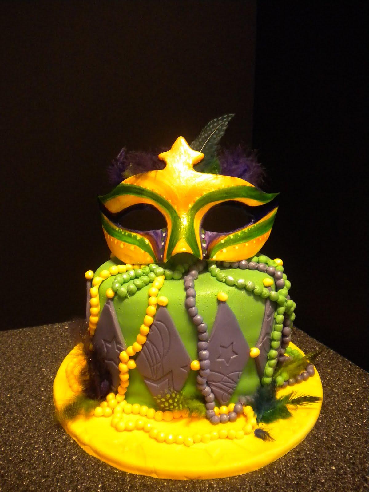 Wendy Woo Cakes: Mardi Gras Masquerade