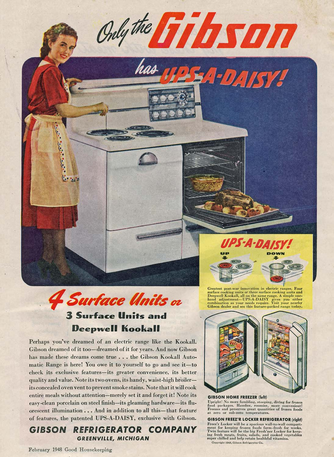 Happy Thanksgiving To All My Blog Friends I Thought You Might Enjoy These Vintage Ads From The 1940s Kitchens Most Are Good Housekeeping March 1948