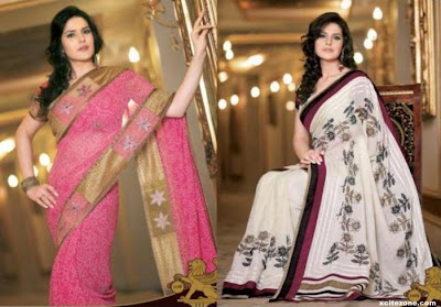 Zarine Khan is very nice in pink sarees