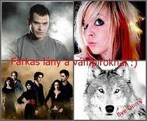 Farkas lány a vámpíroknál :)