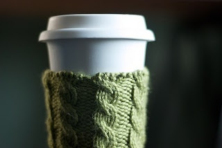 Free Knitting Pattern Coffee Cup Sleeve : Etsy Twitter Team: July 2009
