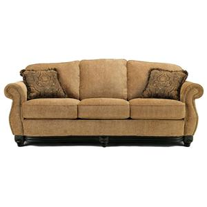 5. This Cambridge Amber Traditional Sofa Is A Fabric Version Of The  Barcelona Antique Version.