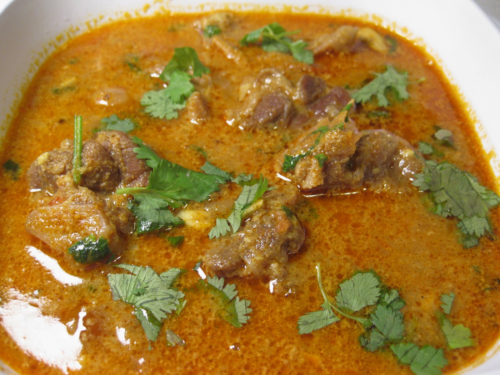 food blog on my kitchen cuisine: Chettinad Lamb Curry