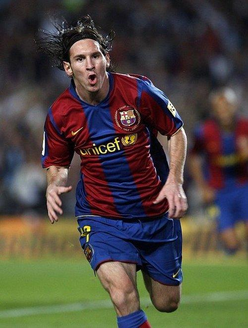 Either Messi or Ronaldo