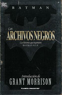 Batman - Los archivos negros - Grant Morrison