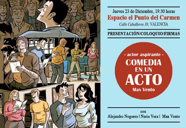 Presentación de COMEDIA EN UN ACTO - Max Vento