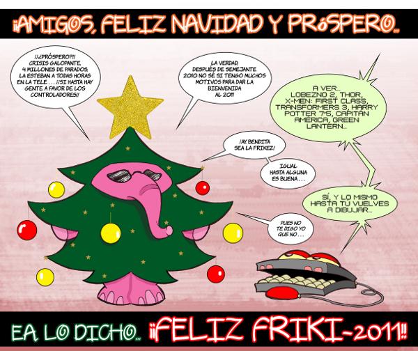 Postal Navidad - Mister Elefante