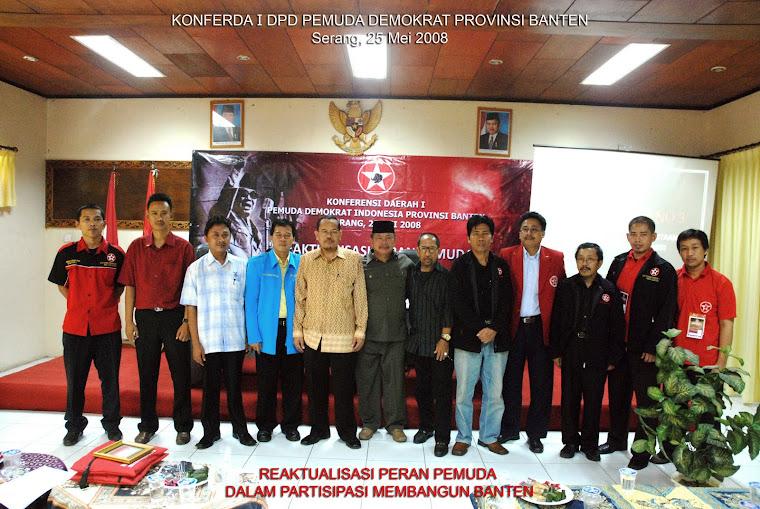 KONFERDA I PEMUDA DEMOKRAT INDONESIA PROVINSI BANTEN
