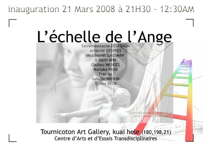 """affiche expo l""""échelle de l ange"""