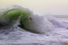 Body Surfing at The Wedge - Newport Beach, CA
