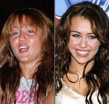 ugly Miley Cyrus