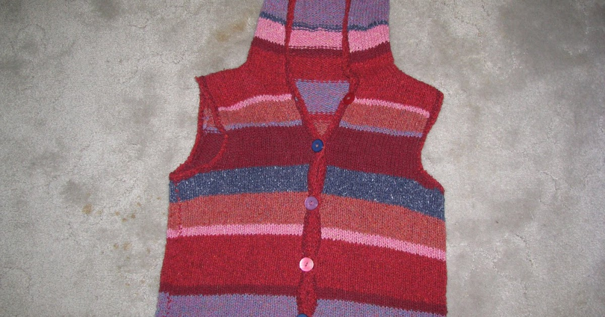Knitting Patterns For Rowan Summer Tweed : Chris Knits in Niagara: Rowan Summer Tweed Vest