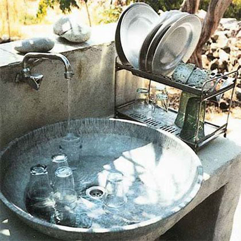 alamodeus Outdoor sink