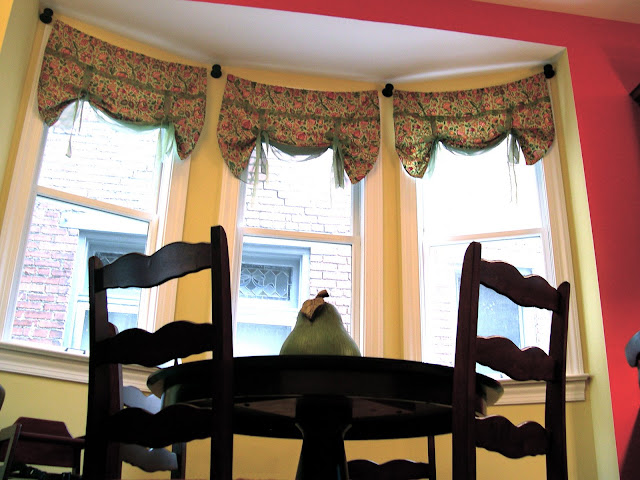 Curtain Panels for my Breakfast Nook {how to make curtains} - Home ...