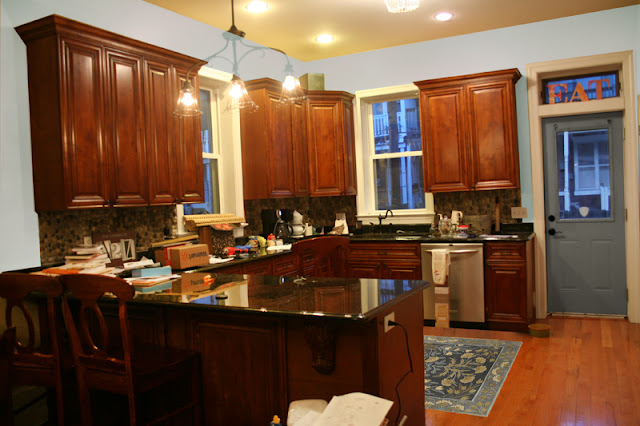 After Seeing How Much Brighter My Kitchen Looked With Different Paint, I  Chose To Paint My Walls Sherwin Williams Sea Salt. This Small Change Made A  Big ...