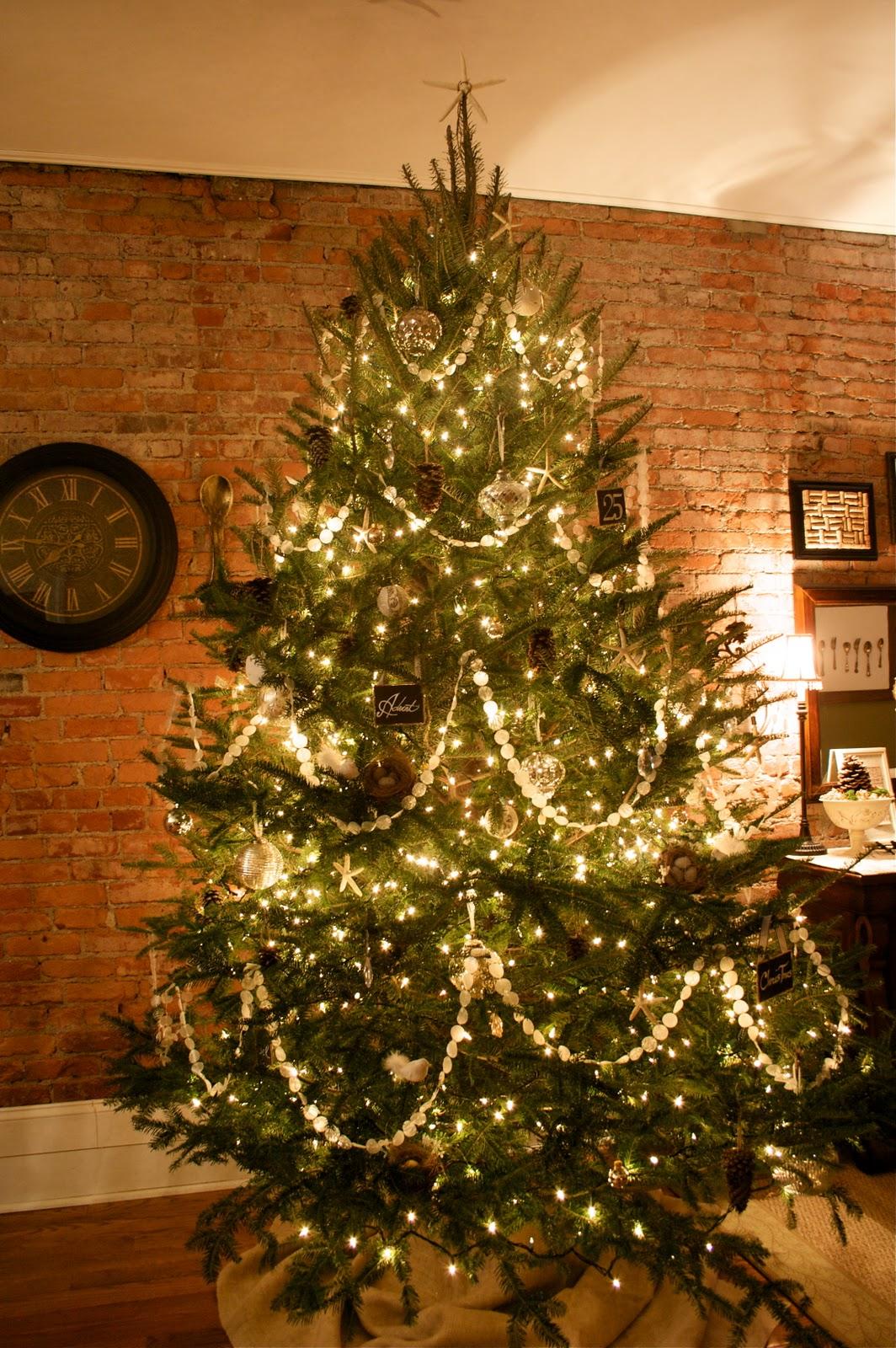 Golden Christmas Tree Decoration Strings