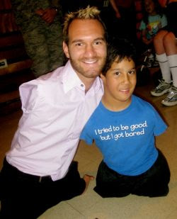 am reviewing speakers for an event in Washington DC and Nick Vujicic