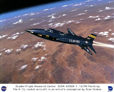 X 15 Speed Atomic Surgery: X-15 Sets Speed Record