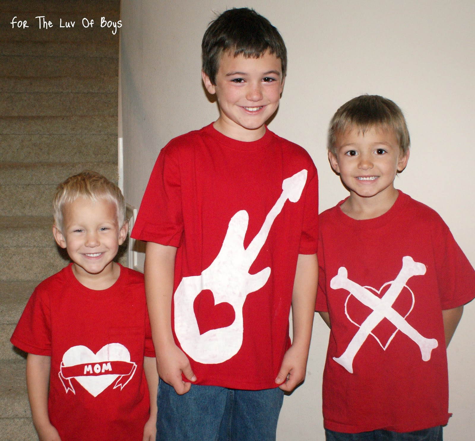 For The Luv Of Boys Fun Valentine S Day Shirts
