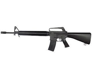 M-16 rifle