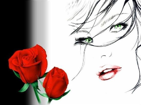 Imagenes De Rosas Rojas Preciosas - Imagenes de rosa rojas con frase de amor Imágenes