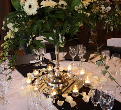 White Wedding Table. white wedding reception.