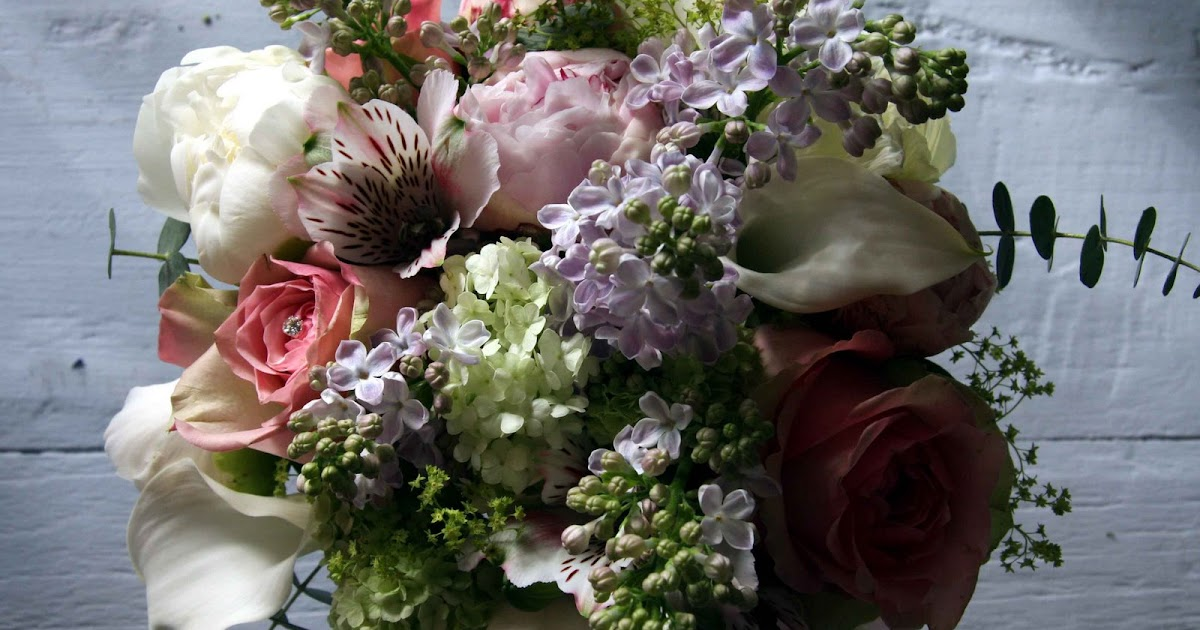 Flower Design Vintage Weddings: English Country Garden Wedding Bouquet