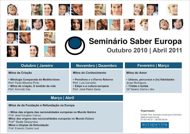 Seminário Saber Europa 2010 / 2011