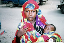 Somali woman and child.