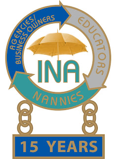 INA Service Award Pin for 15 Years