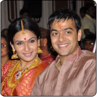 Soundarya Rajinikanth's wedding on September 2nd 2010