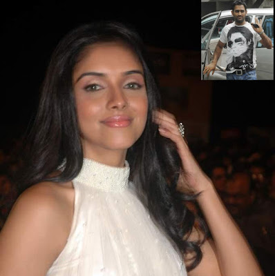 Asin and Dhoni at the same Hotel in Srilanka