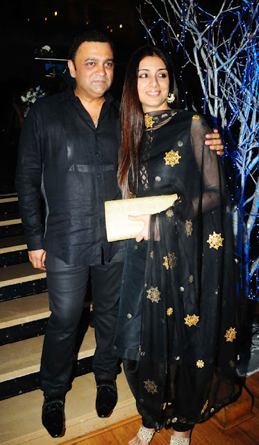 Tabu-Prakash Raj Pony Verma Wedding Reception Stills