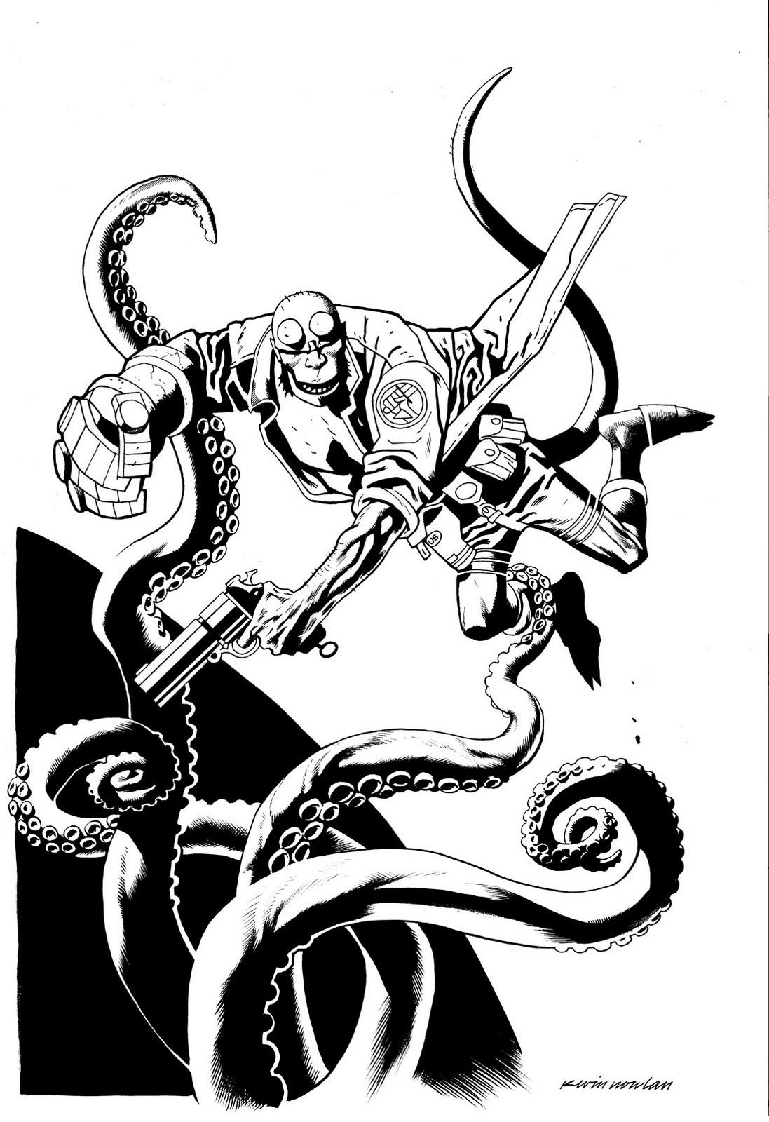 Coloring Pages Hellboy Coloring Pages hellboy coloring pages eassume com kevin nowlan hellboy