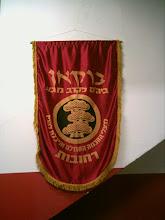 A gloriosa bandeira da escola