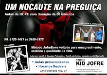 Venha treinar Boxe com o sobrinho do Campeão EDER JOFRE!