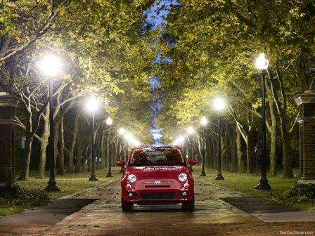 cars wallpapers for desktop 2011. 2011 FIAT 500 SPORT CAR
