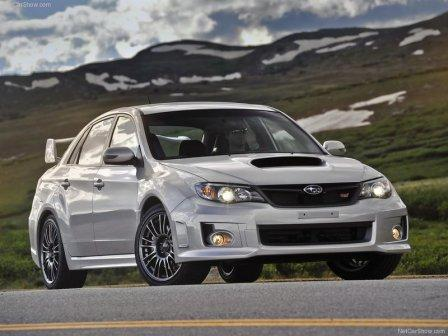 sti wallpaper. In front, the 2011 WRX STI
