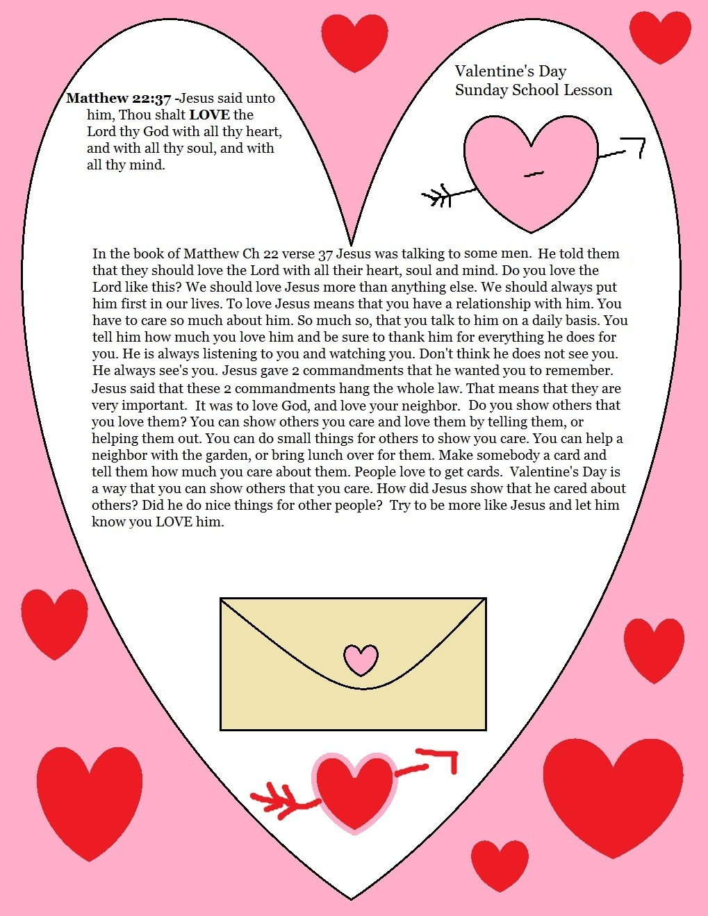 Beautiful Valentine's Day Bible Lessons for Youth Collections
