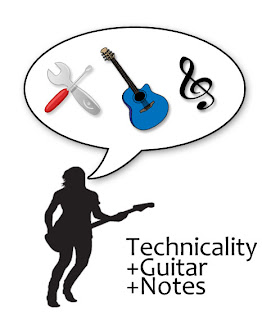 Technicality in guitar playing