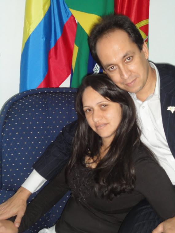 Pr. Cézar Carrijo e Missª Gláucia Carrijo