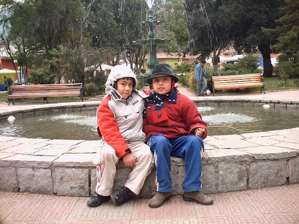 Romeo y su hermano Valentino (9 y 7 años)