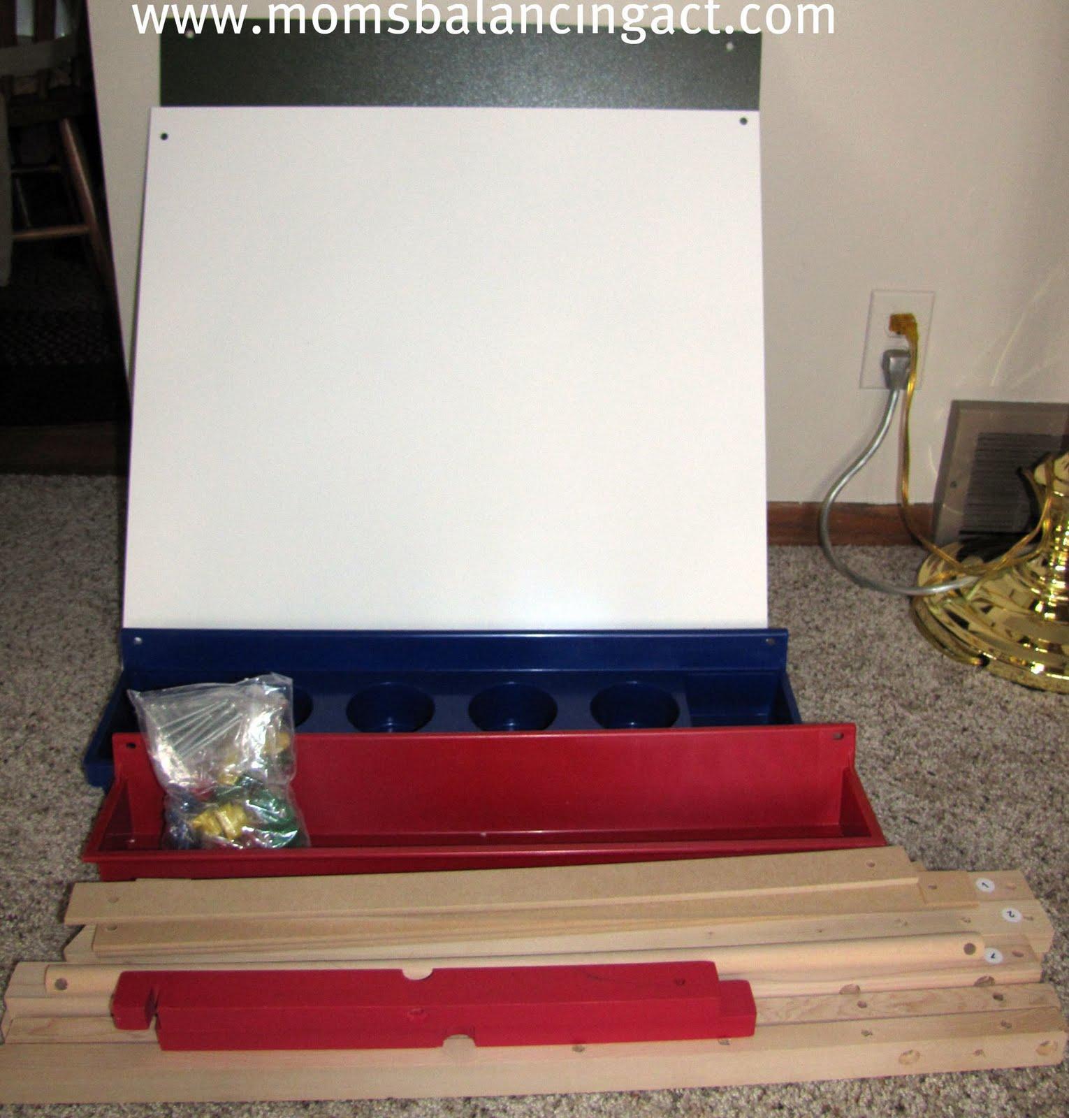 easel set up instructions