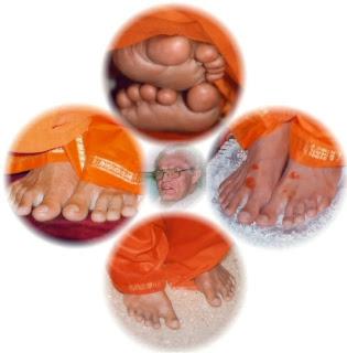 Robert Priddy Padnamaskar Sathya Sai Baba Feet Love