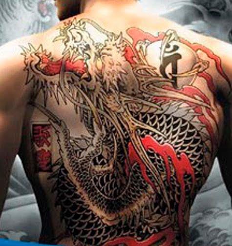 Fire dragon tattoos new tattoo sport for Dragon fire tattoos