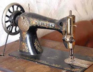 ماكينة سنجر قديمة، يعتقد أنها تحوي كميات من الزئبق