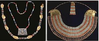 حلي مختلفة كانت بمثابة التعويذات لدى قدماء المصريين